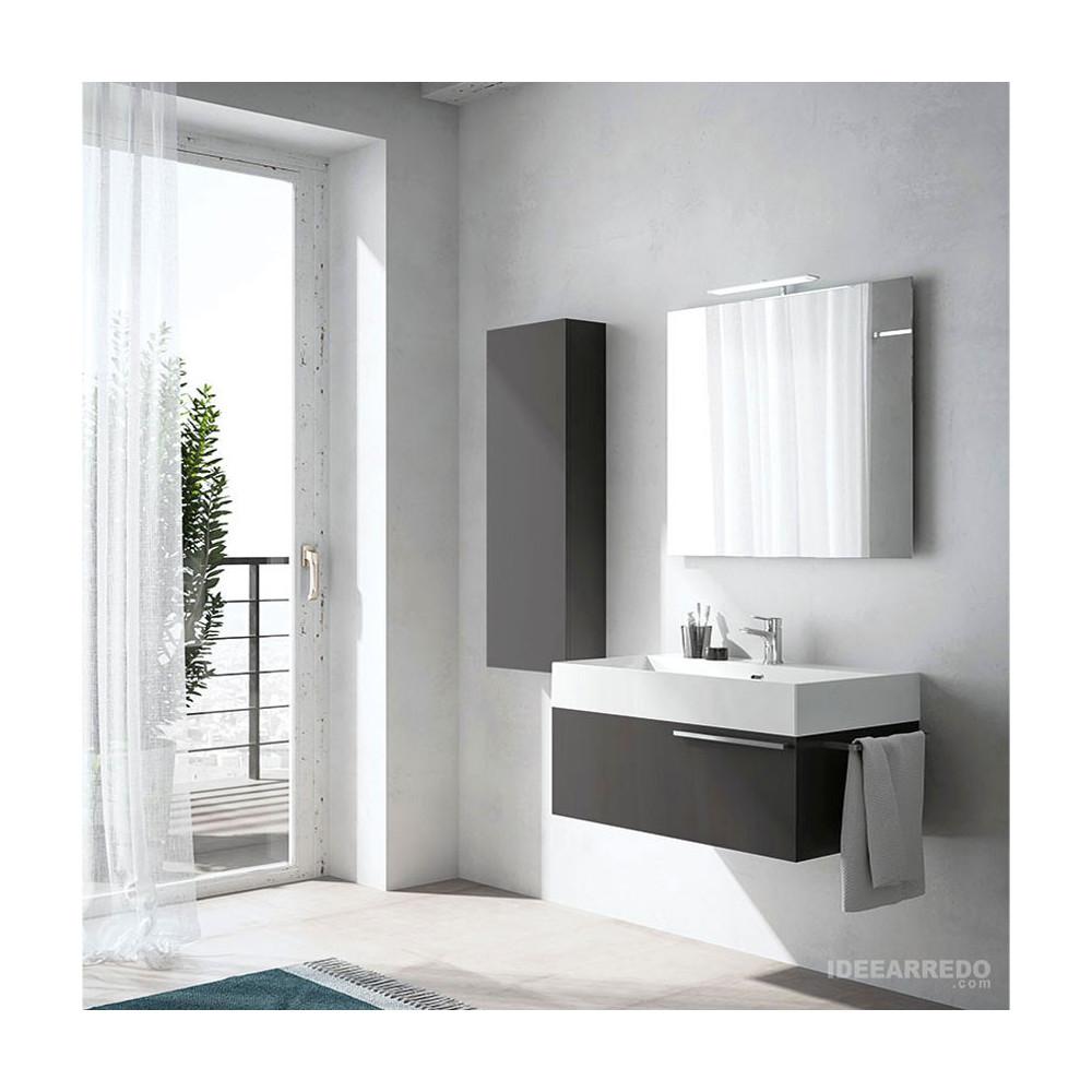 Meuble de salle de bain compact Mercury Bmt Bagni