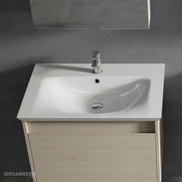 mobiletto bagno in legno Mars BMT bagni