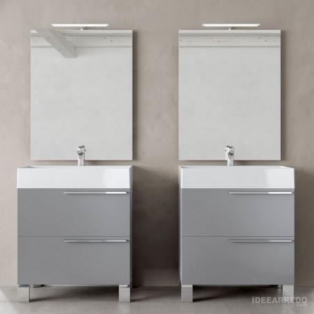 bagni con due lavandini Mercury BMT Bagni