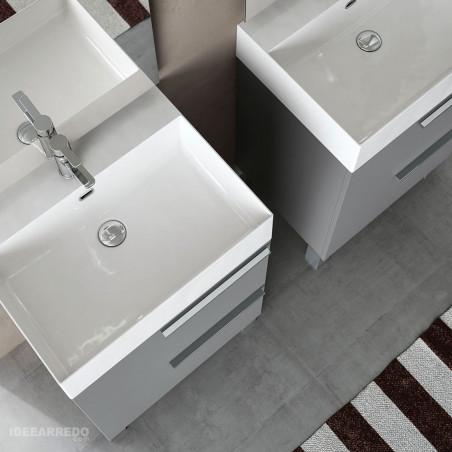 mobili bagno doppio lavabo prezzi Mercury BMT Bagni