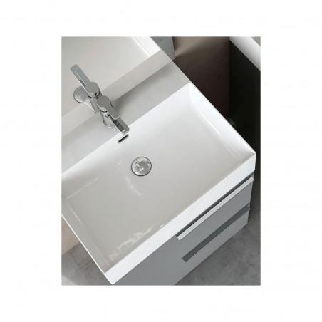 meuble de salle de bain gris Mercury Bmt