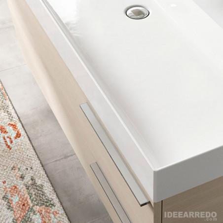 mobile arredo bagno doppio lavabo Mercury BMT Bagni