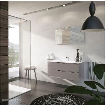 mueble de baño suspendido 100 cm Swing BMT Bagni