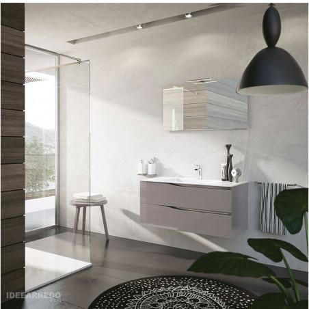 meuble de salle de bain suspendu 100 cm Swing BMT Bagni