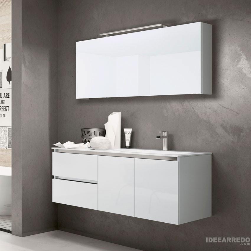 meubles de salle de bain 120 cm Swing BMT salles de bains
