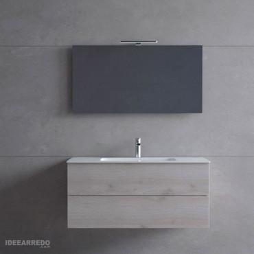 Mueble de baño de madera Blues 2.0 Bmt Bagni