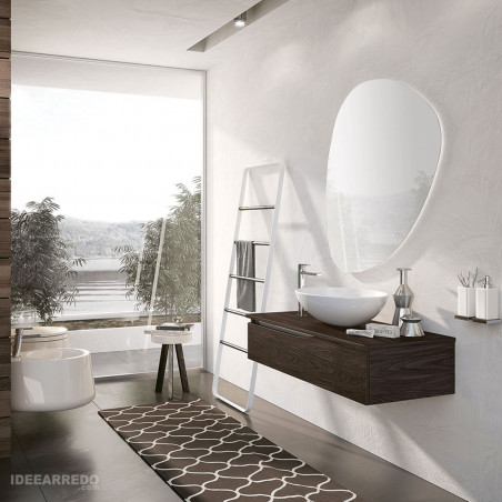 Armoire de salle de bain en bois Swing BMT Bagni