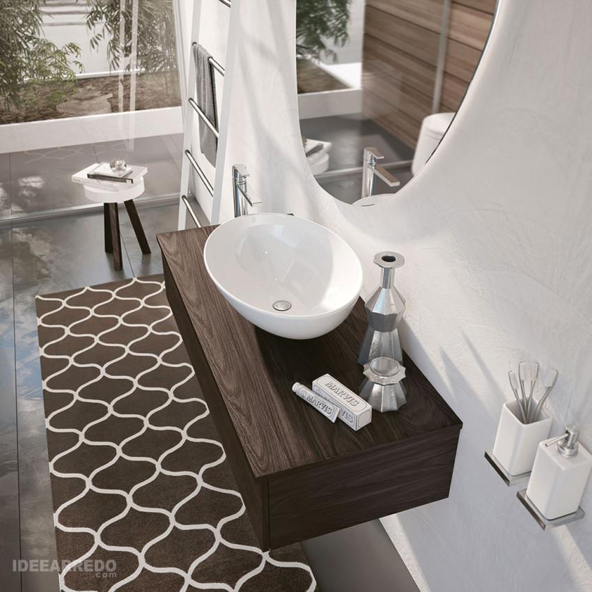Meuble sous-vasque de salle de bain Swing BMT