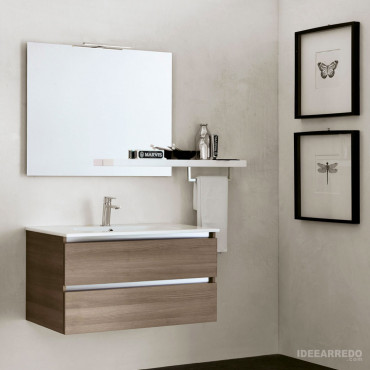 Mueble de baño de madera Swing BMT Bagni