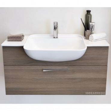 mobile da bagno in legno Blues BMT Bagni