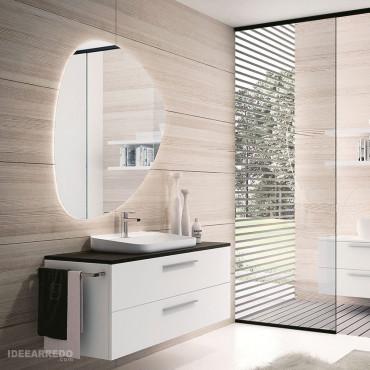 Meuble salle de bain suspendu 100 cm BMT Blues Salles de bains