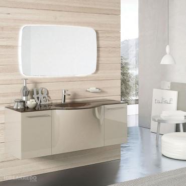 Mobiliario de baño curvo Blues BMT baños