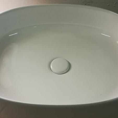 piletta in ceramica click clack finitura bianco lucido Olympia