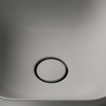 Olympia mattgrauer Keramik-Klick-Klack-Ablauf