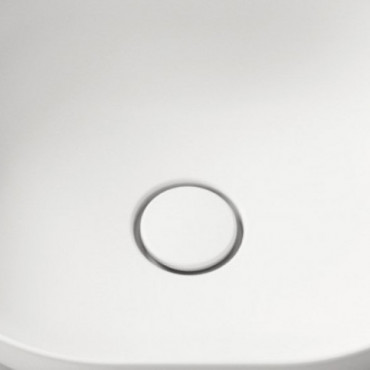 Olympia mattweiß Klick-Klack-Abfall