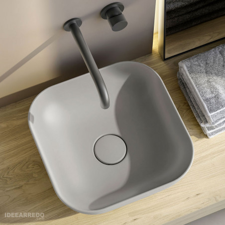 lavabo quadrato Trend Olympia ceramica