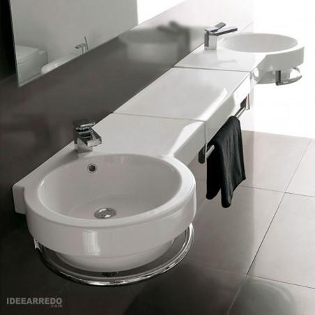 lavabo doppio Olympia ceramica Tutto Evo