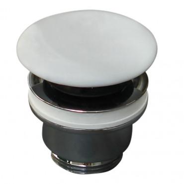 piletta in ceramica bianco opaco click clack Olympia