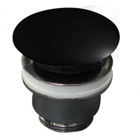 piletta in ceramica click clack nero lucido Olympia