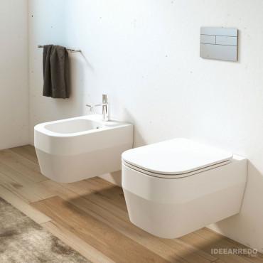 Olympia Ceramica Tutto Evo wandhängende Sanitärkeramik ohne Rand