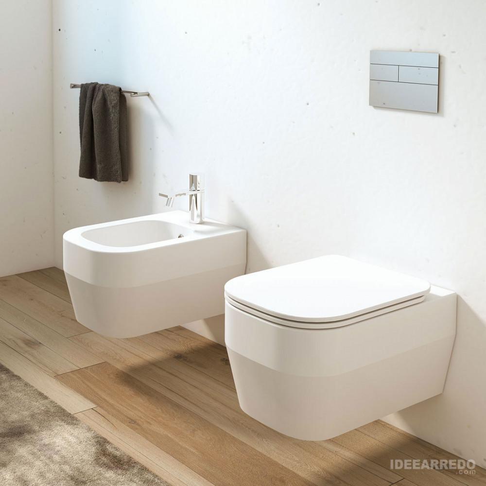 Olympia ceramica Tutto Evo sanitaires suspendus sans rebord