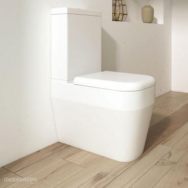 WC integrated cistern Olympia ceramica Tutto Evo