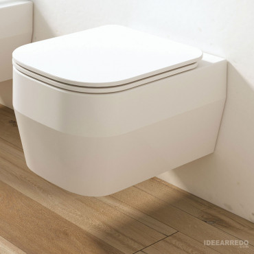spülrandloses wandhängendes WC Tutto Evo Olympia Keramik