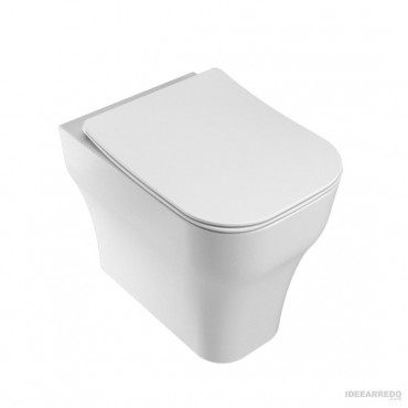 wc scarico a terra traslato Synthesis Eco Olympia ceramica