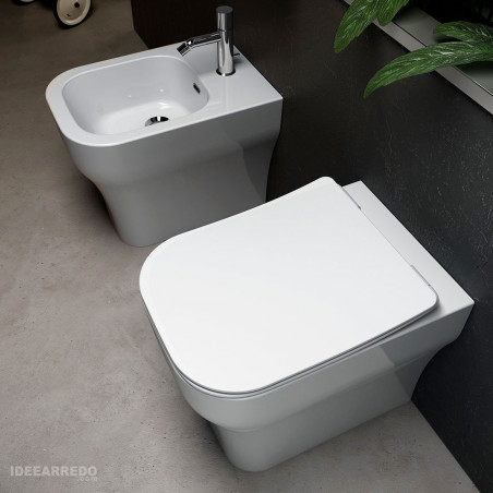 sanitaire sans monture au sol Synthesis Eco Olympia ceramica