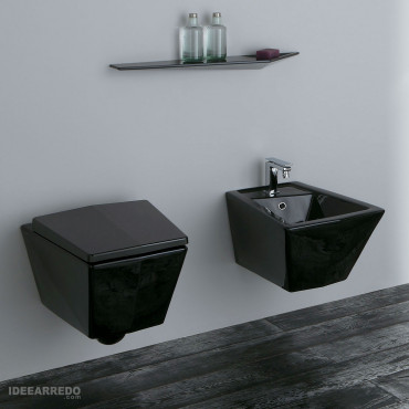 Sanitaire Crystal Olympia Ceramica noir
