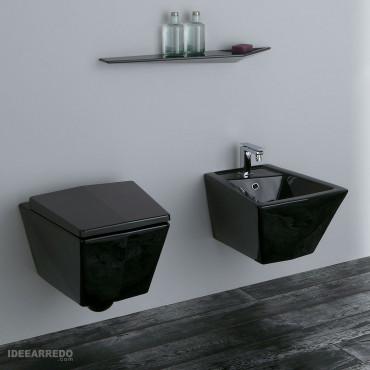 Sanitaire Crystal Olympia Ceramica noir