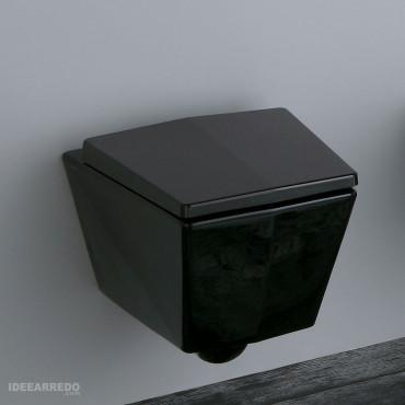 Inodoro Crystal Olympia Ceramica negro