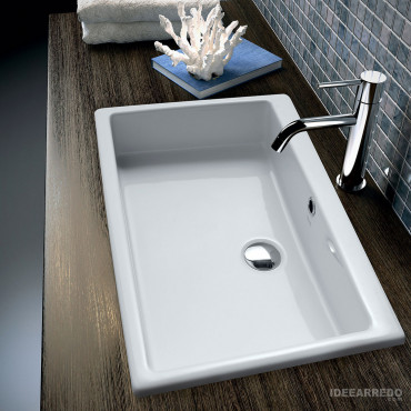 lavabo encastrable Dress Olympia Ceramica