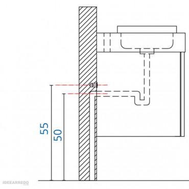 montaggio mobile bagno sospeso Galaxy BMT Bagni