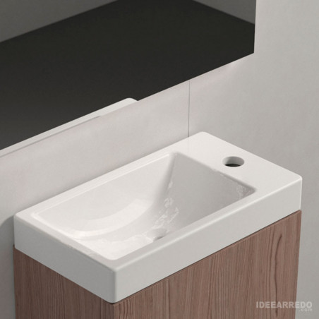 meuble de salle de bain 40 cm Galaxy BMT Bagni