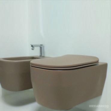 Alle Evo Olympia Ceramica braune Sanitärkeramik