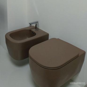 Tous les sanitaires couleur Evo Olympia Ceramica