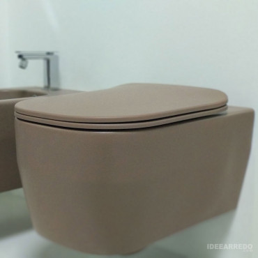 WC suspendu WC couleur...