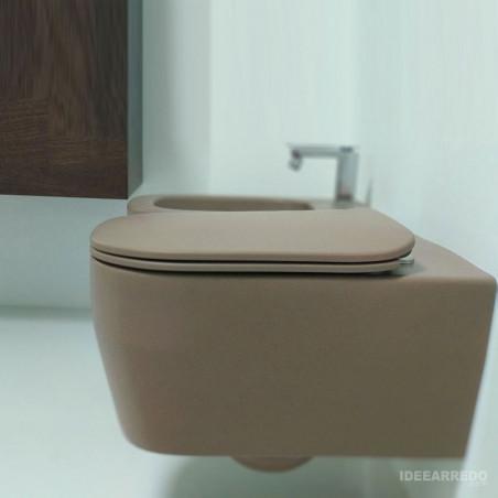 salle de bain gris tourterelle Tutto Evo Olympia Ceramica