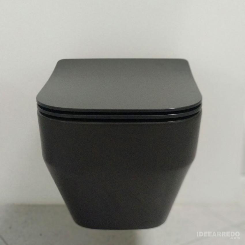 Toilette All Evo noire Olympia Ceramica