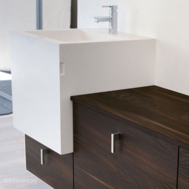 meuble vasque de salle de bain design Funky 01 BMT Bagni