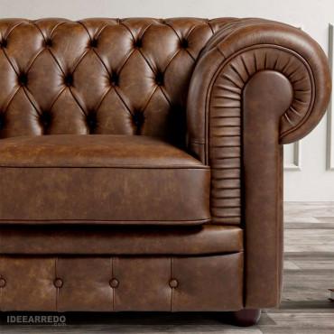 divani cuoio vintage Gallese IDEEARREDO.com
