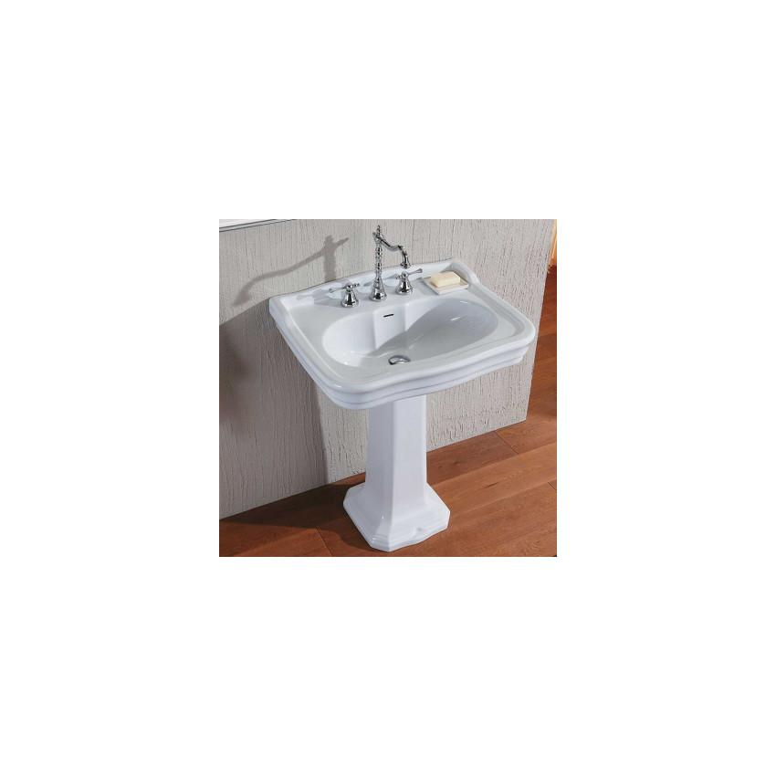 Classic Bathroom Sink Retro Washbasin 70 Cm Olympia Impero