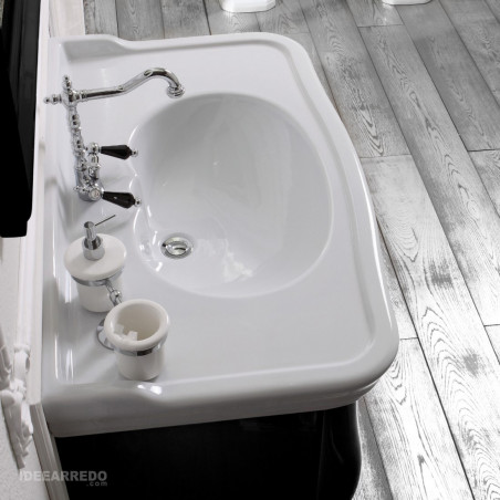 Classic bathroom washbasin 100 Impero Olympia Ceramica