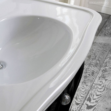 bathroom sink with classic cabinet prices Impero Olympia Ceramica