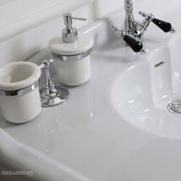 classic bathroom sink 100 Impero Olympia Ceramica