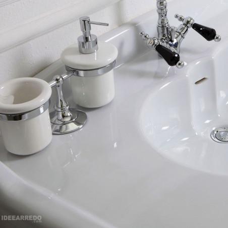 lavabo de salle de bain classique 100 Impero Olympia Ceramica