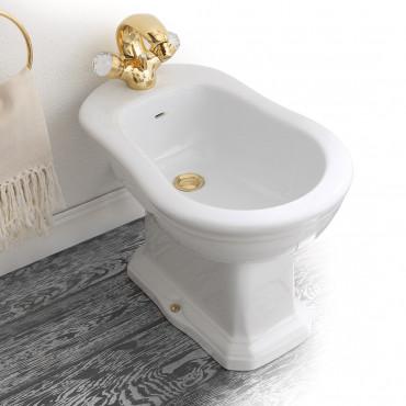 Olympia Ceramica Impero klassische bodenstehende Sanitärkeramik