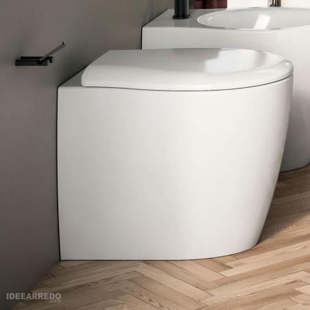 WC dos à mur sans bride Formosa 2.0 Olympia Ceramica