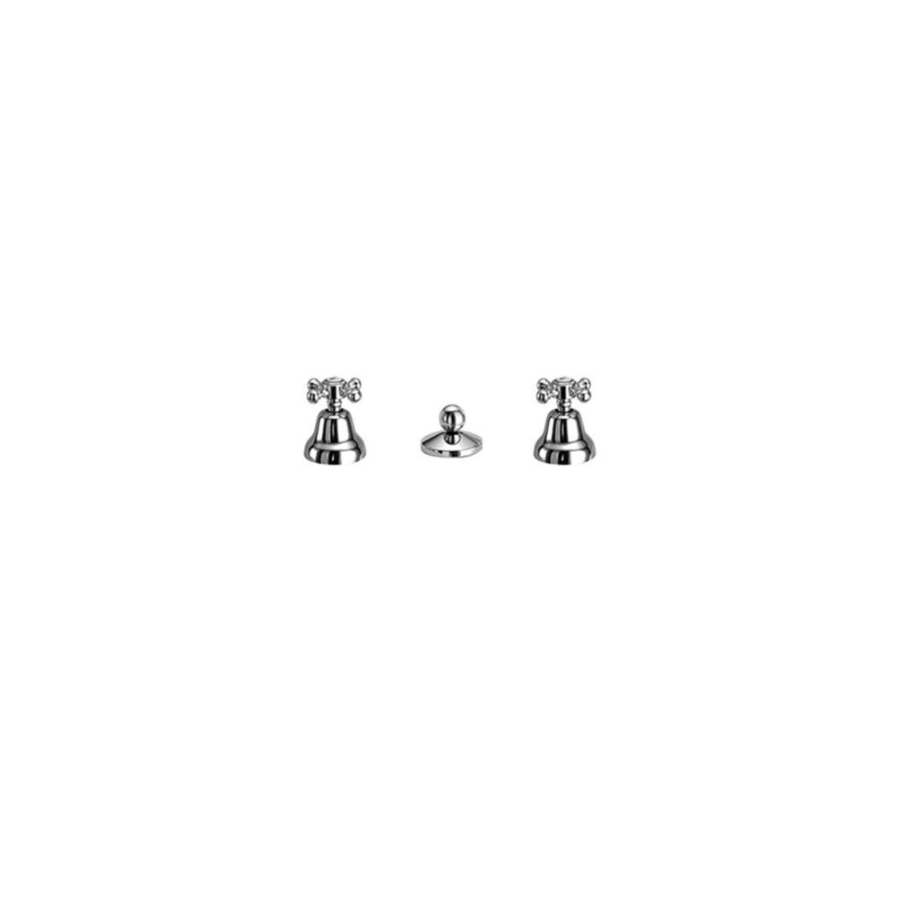Rubinetteria bidet senza canna tre fori Aramis 1020 Gaboli